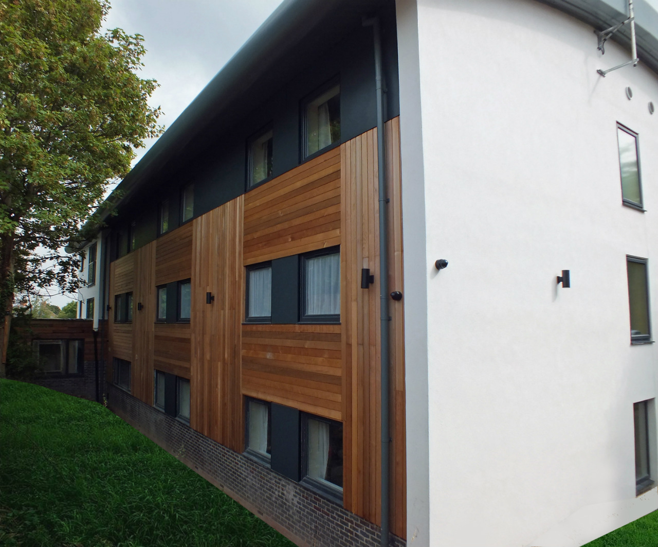 Exterior of Room at Cadnam Hall student accommodation in Birmingham