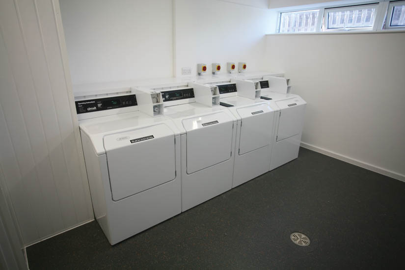 Laundry facilities at Purbeck House Cambridge