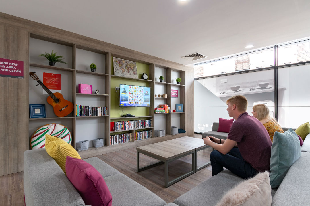 Student communal spaces in Kingston