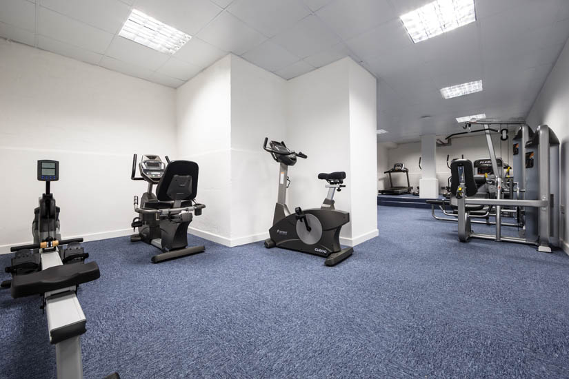 Gym at Mercia Lodge Coventry