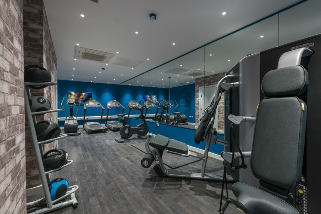 Student on-site gym in Canterbury