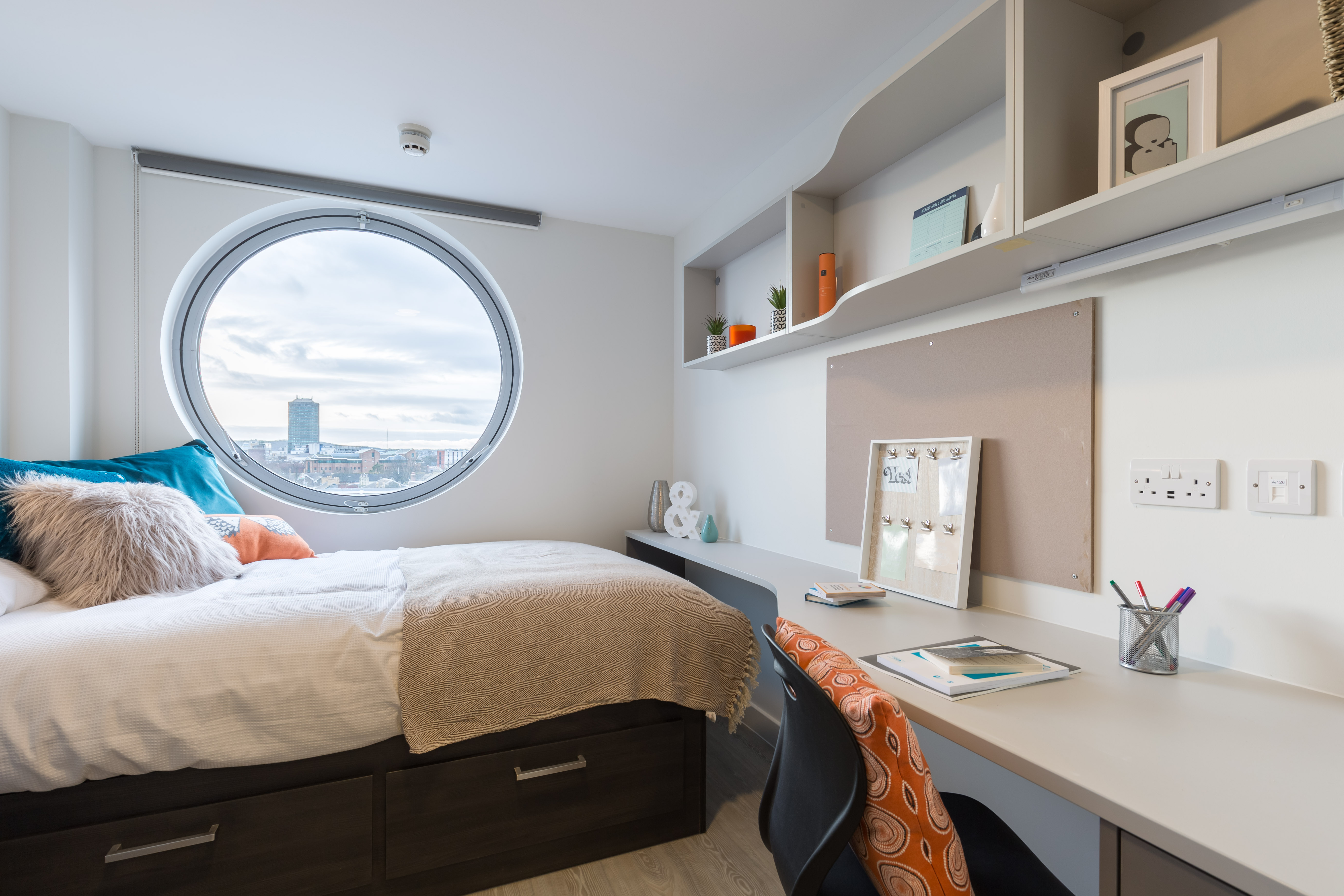 Photo of a bedroom at Livin Student Accommodation in Cardiff
