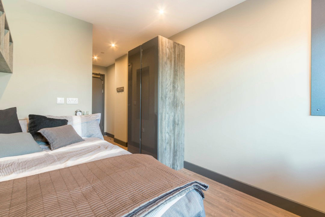 Cluster room at Lumis Student Living Cardiff