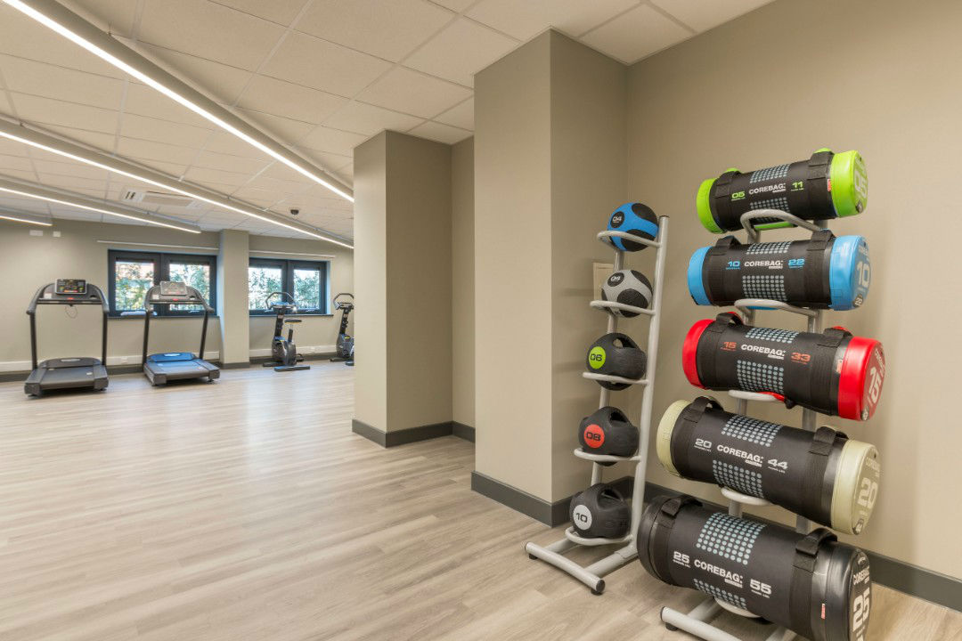 Gym at Lumis Student Living Cardiff