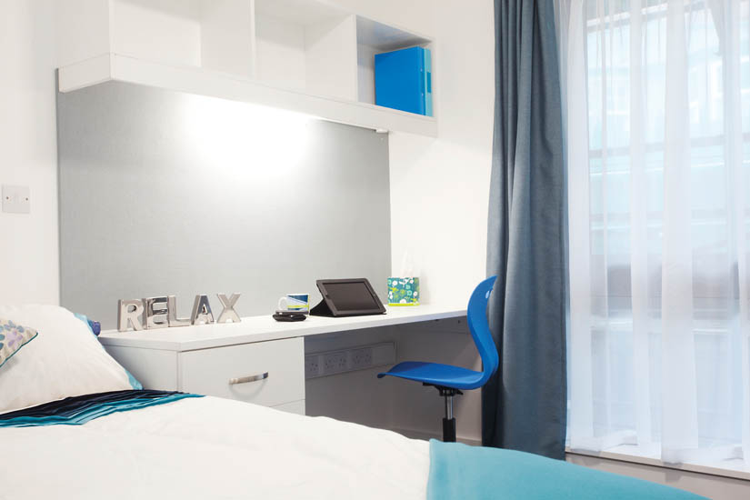 Photo of a bedroom at Ropemaker Court in Manchester