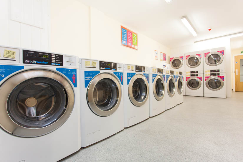 Laundry at Ropemaker Court Manchester