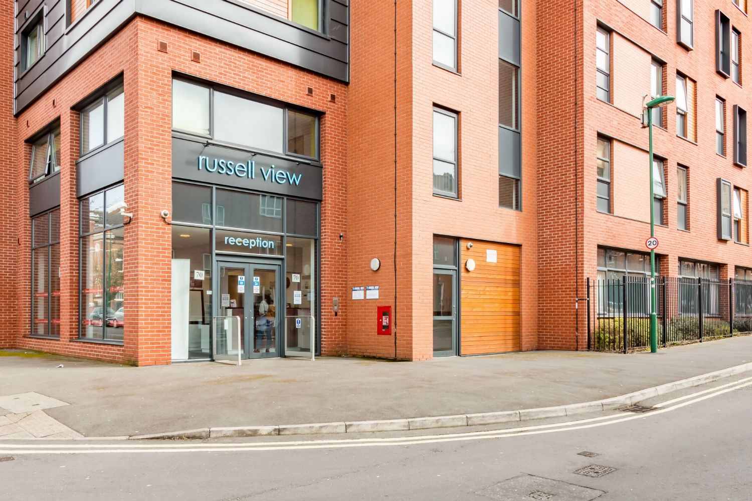 Exterior of Russell View Nottingham