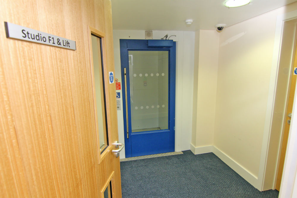 Disabled Lift at The Sidings Penryn