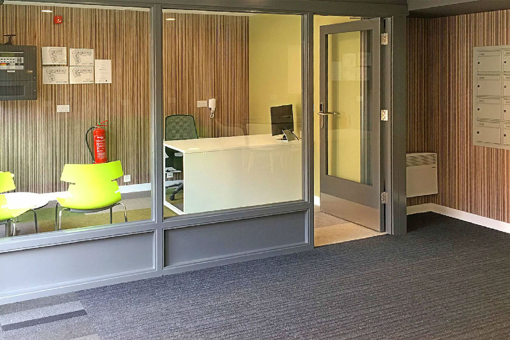 Reception of York House in Leicester