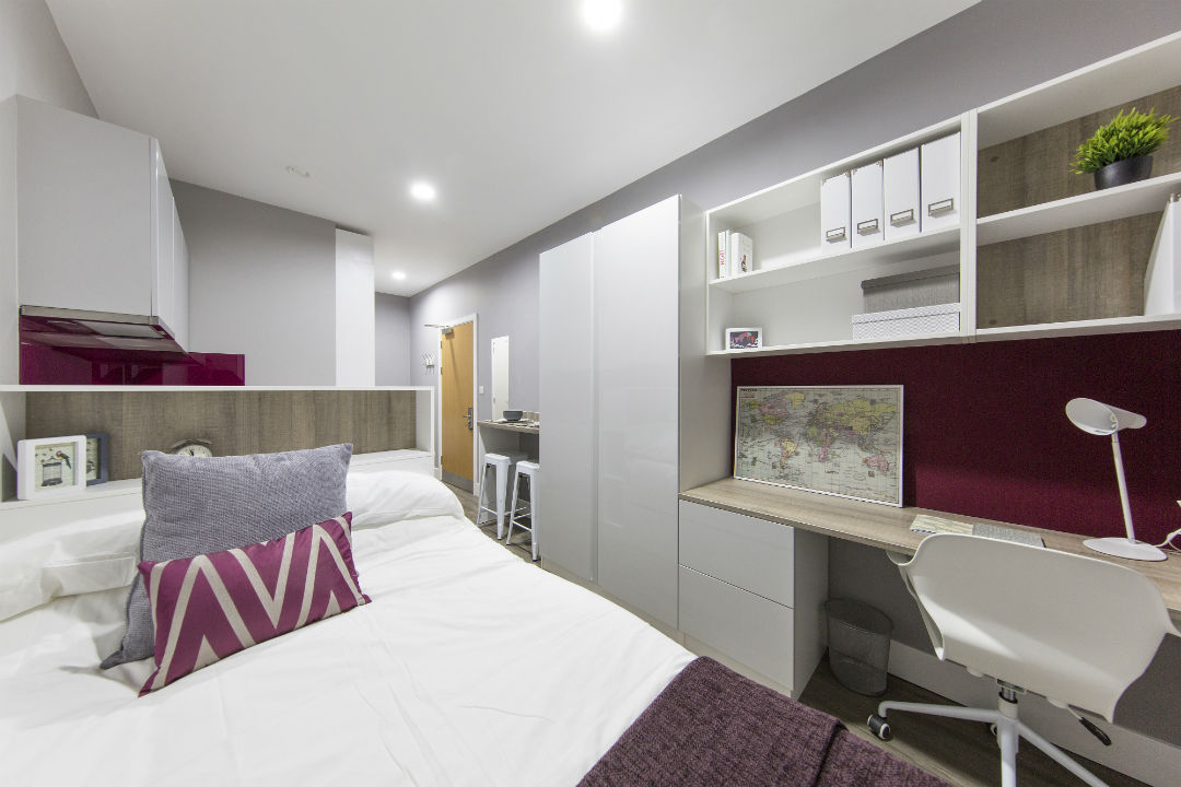 Student studio accommodation in Kingston Upon Thames