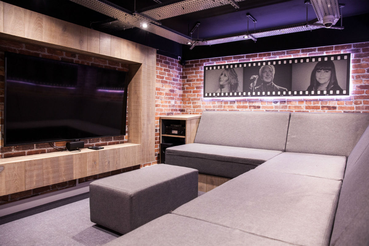 Cinema at Crown Place student accommodation in Cardiff