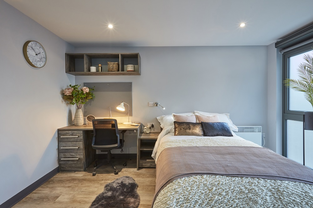 Large Studio at Crown Place student accommodation in Norwich