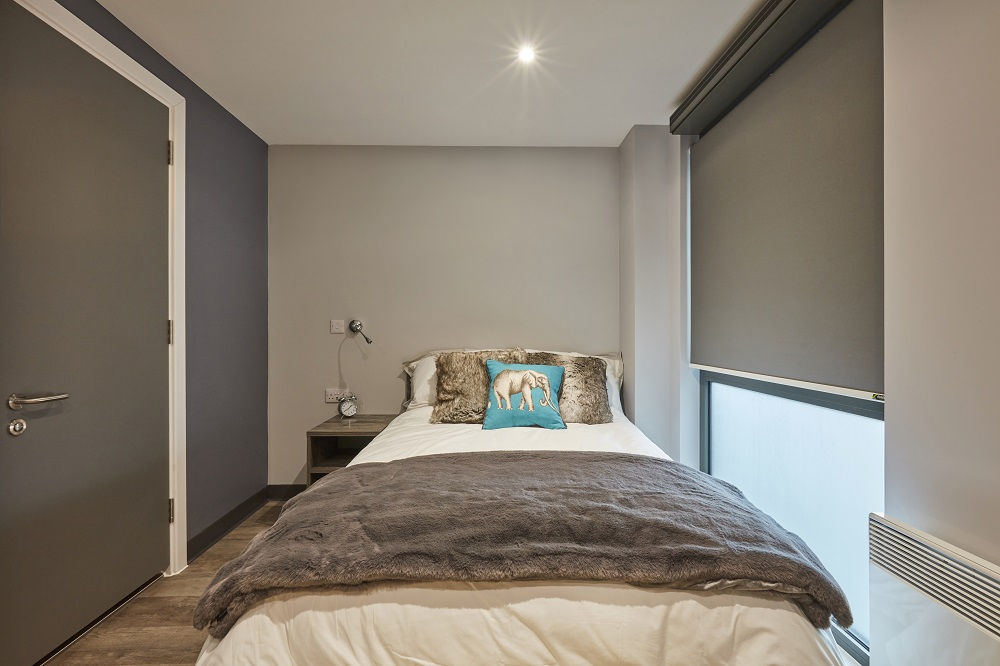 Premium Studio at Crown Place student accommodation in Norwich