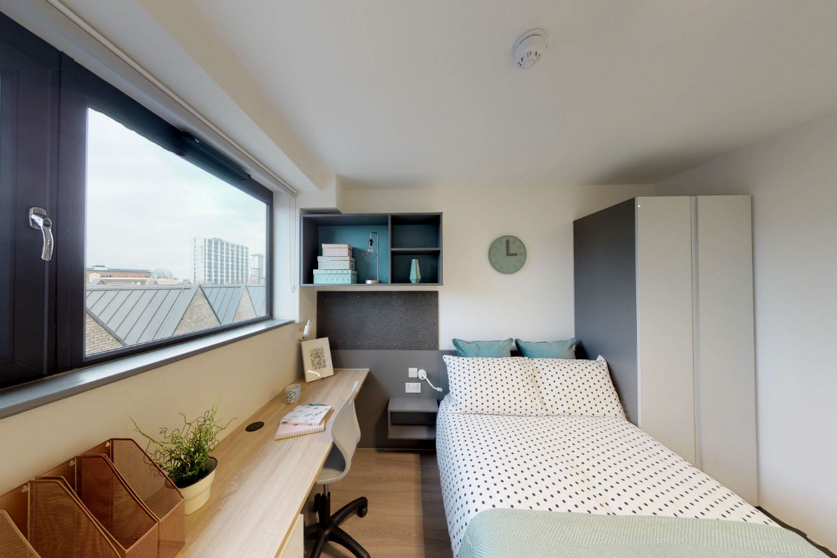 Studio En-suite at Capital House Student Accommodation in Southampton