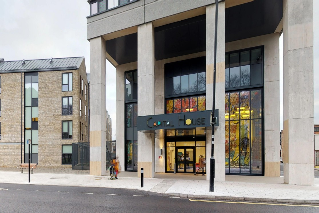 External photo of Capital House student accommodation in Southampton
