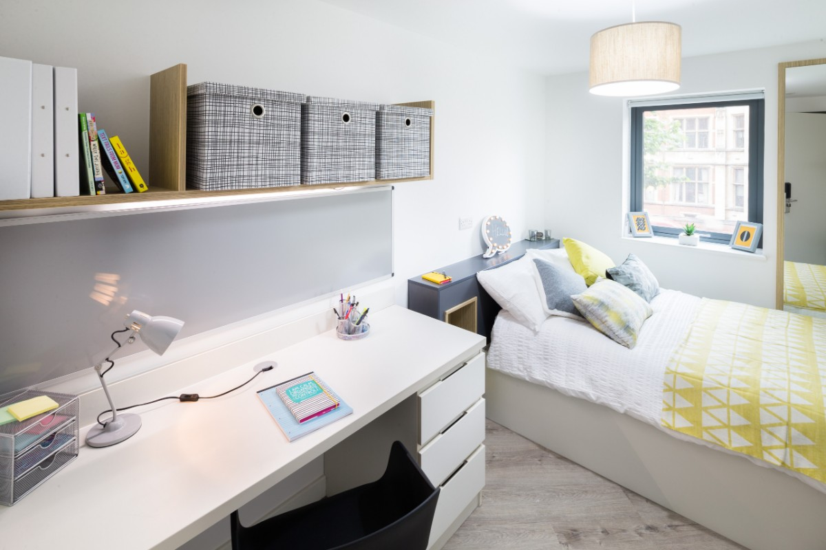 Standard 2 bed apartment at The Fitzalan student accommodation in Cardiff