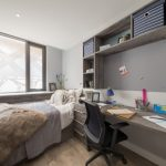 Standard Studio at Crown Place student accommodation in Cardiff