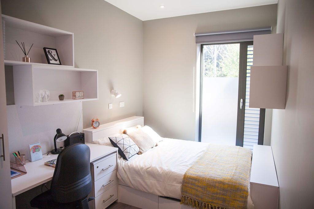 Cluster room at Atlas House student accommodation in Exeter