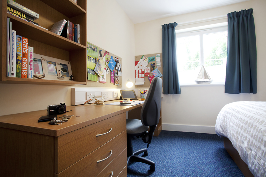 Standard En-suite at The Sidings student accommodation in Penryn