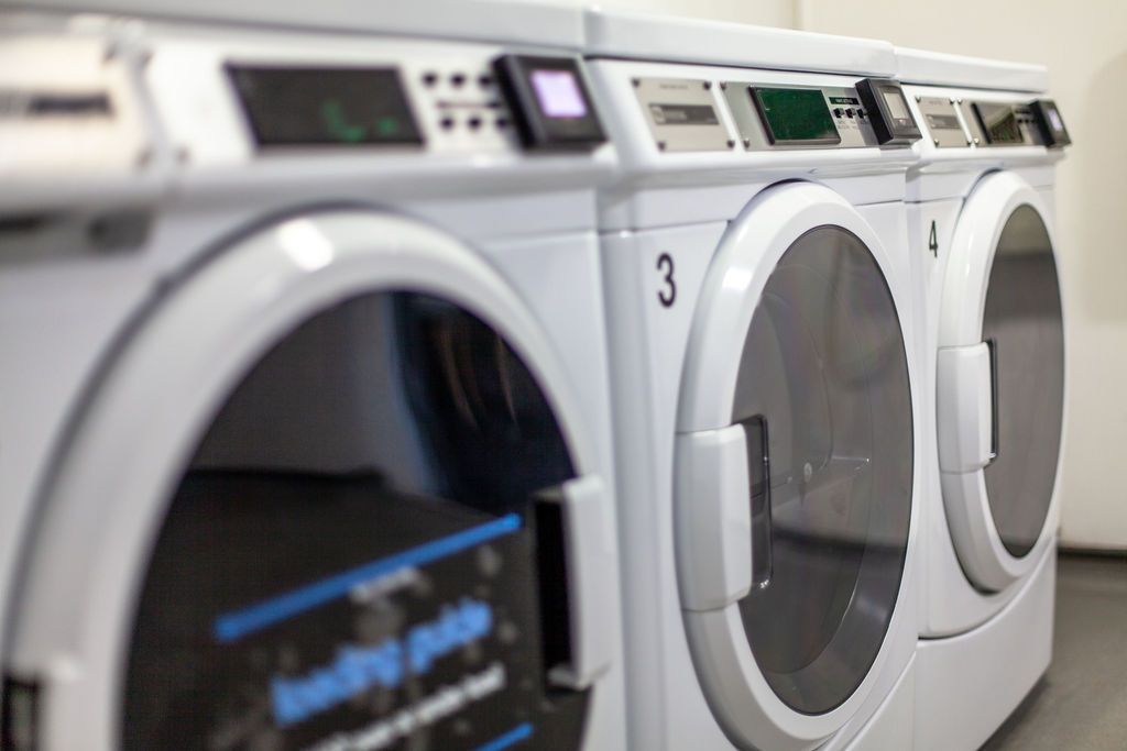 Laundry at York House student accommodation in Leicester