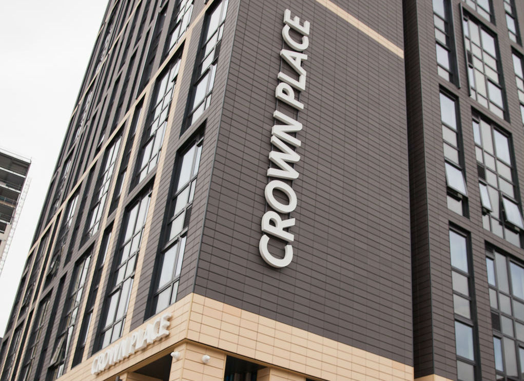 Exterior Crown Place Student Accommodation in Portsmouth