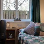 Standard en-suite room at The Cube student accommodation in Loughborough