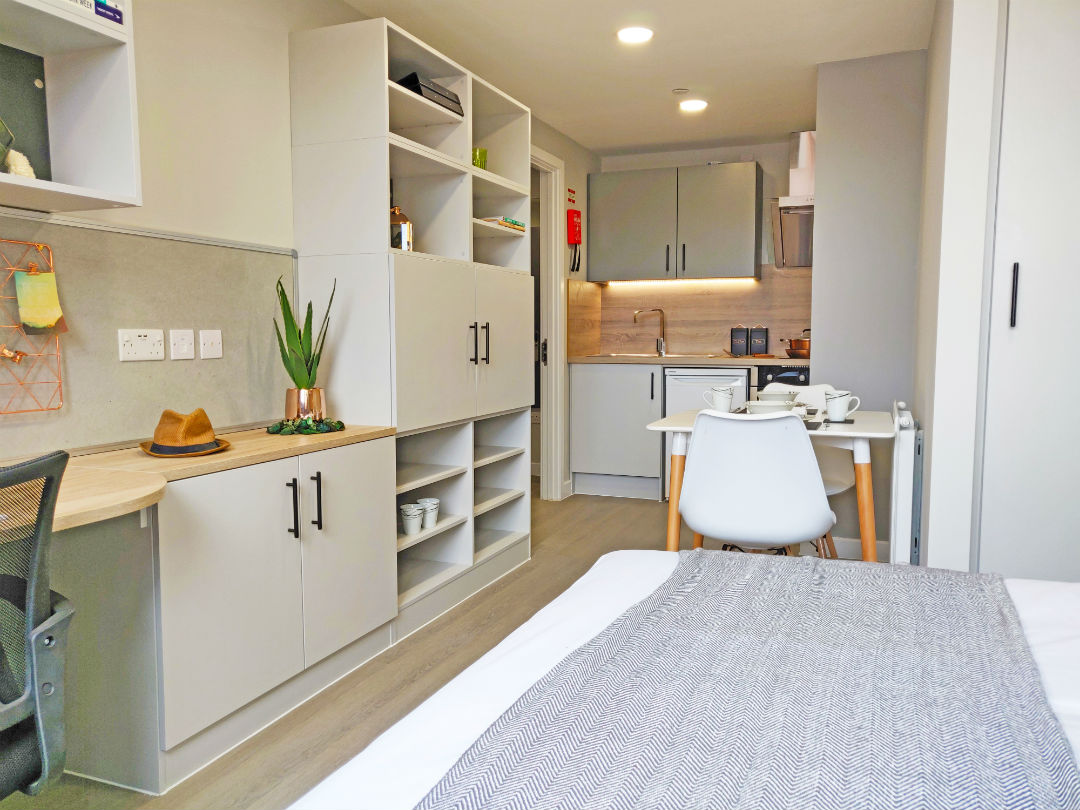 Studio Room at The Coal Yard Student Accommodation in York