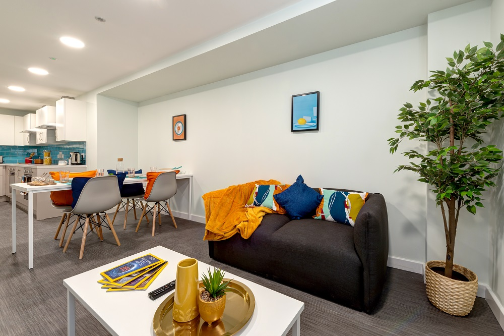 Student Accommodation Falmouth Shared communal area