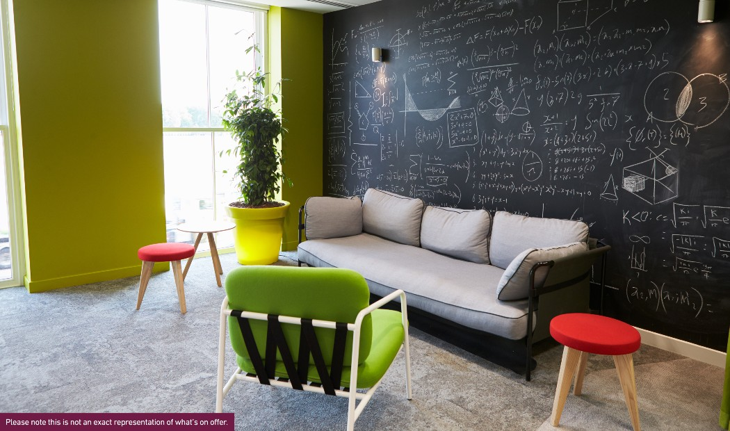 Lounge in Rhodaus Court, student accommodation in Canterbury